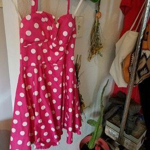 MODCLOTH PIN UP DRESS
